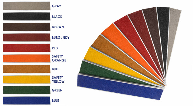 abrasive-color-chart